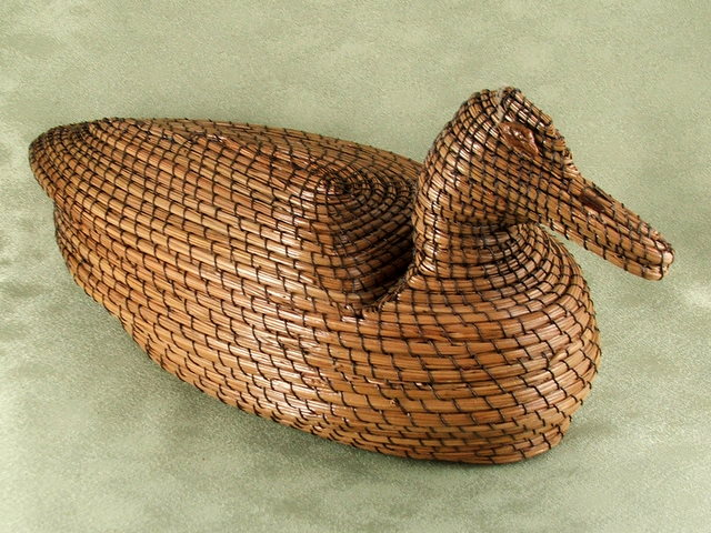 Decoy Duck (Top and bottom seperate to make it a basket)